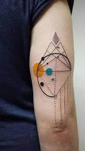 aline wata u0027s tattoos beautifully combine geometric patterns with