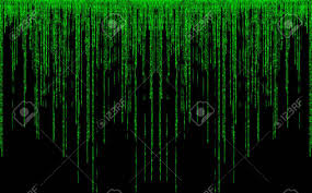 forest green color code green color code streams glowing on screen stock photo picture and