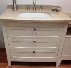 Retro Bathroom Furniture by Bathroom 25 Inch Allen And Roth Vanity With Vessel Sink For