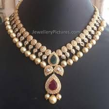 gold jewelry designs necklace images Latest necklace designs in gold jewellery designs jpg