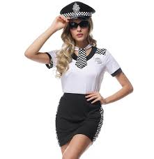 Halloween Police Costume Womens Costume Promotion Shop Promotional Womens