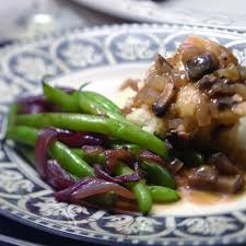 green bean recipes for thanksgiving green beans with caramelized red onions recipe eatingwell
