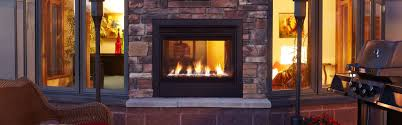 fortress see through gas fireplace heat u0026 glo