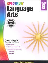 spectrum language arts 2015 grade 8 058380 details rainbow