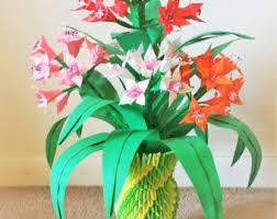 Flower Vase Decoration Home Paper Flower Vase Centerpiece Wedding Decorations Home