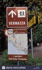 Cinque Terre Italy Map Italy Liguria Cinque Terre Monterosso Al Mare Hiking Sign Map