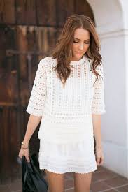 fashion style for 62 woman tips on how to wear white clothing without feeling fully exposed