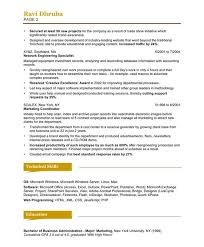 examples of marketing resumes sample free marketing resume
