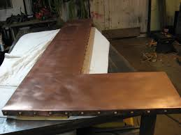 Counter Bar Top Heavy Metal Works Copper Bar Counter Top