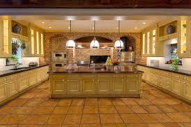 Porcelain Tile Kitchen Floor Kitchen Winsome Kitchen Floor Tiles With Light Cabinets