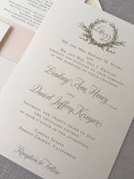 southern magnolia wedding invitation in gold ink u2013 cardinal and straw