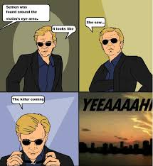 Meme Sunglasses - csi meme