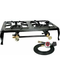 Propane Gas Cooktop Save Your Pennies Deals On Sportsman Cast Iron Double Burner