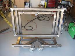 diy portable welding table welding table on pinterest folding welding table costa home
