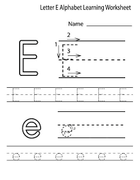 free printable letter e worksheets for kindergarten u0026 preschool