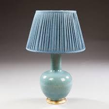 Duck Egg Blue Vase Ceramic Table Lamp Duck Egg Blue Best Inspiration For Table Lamp