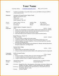 Different Resumes For Different Jobs by Styles Of Resumes Virtren Com