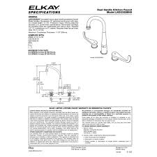 elkay kitchen faucets colony soft pulldown sprayer kitchen faucet arched double handle deck mount kitchen faucet with blade handles
