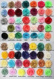 shabby flowers chiffon shabby flowers fabric flowers for clothing embellishments