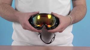 polarized motocross goggles oakley a frame goggle jet black and fire iridium lens www