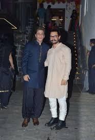 Aamir Khan Home Aamir Khan U0027s Diwali Party Shah Rukh Khan Arjun Kapoor Ranbir