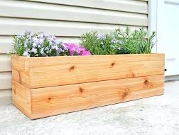 simple planter box view larger simple window planter box plans