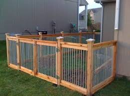 Cheap Fences For Backyard Best 25 Metal Fences Ideas On Pinterest Corrugated Metal Fence