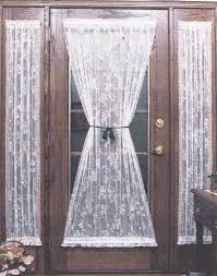 lace curtain for glass door decorate the house with beautiful