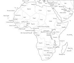 Rivers Of Africa Map by Atlas Blank Map Of Africa With Rivers And Mountains