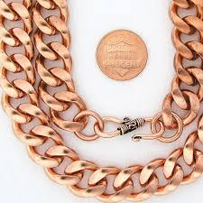 solid copper necklace chain images 33 wonderful copper bracelets for men eternity jewelry jpg