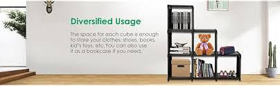 amazon bookshelf black friday sale amazon com tomcare cube storage 6 cube shelves storage cubes