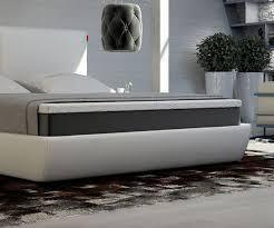 Schlafzimmer Bett Mit Matratze Bett Yumah Weiss 180x200 Cm Mit Topper Und Matratze Boxspringbett