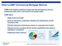 commercial risk model commercial real estate credit risk solutions and best practices