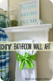 Diy Bathroom Decor by Diy Bathroom Wall Decor Diy Wall Art 5374 Write Teens