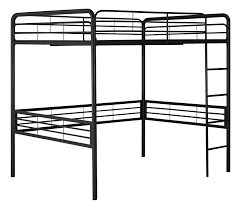 Bedroom Size Amazon Com Dhp Full Size Loft Bed With Metal Frame And Ladder