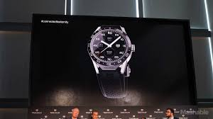 tag heuer ads the tag heuer connected carrera is a 1 500 android wear smartwatch