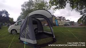 Action Awning Kampa Action Air Driveaway Awning Walkabout 2018 Youtube