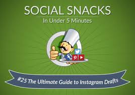instagram drafts the ultimate guide social chefs