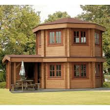 bertsch toulouse log cabins summer house two storey summer house
