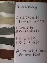 color recipe for