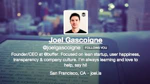 how to write a professional bio for twitter linkedin facebook