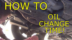 how to change the oil on a 2012 dodge journey youtube