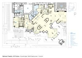 Ground Floor Plan Gallery Of National Theatre Haworth Tompkins 26