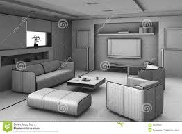 drawing of living room centerfieldbar com