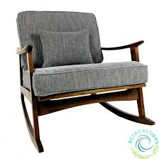 Mid Century Modern Danish Sofa by Restored Mid Century Modern Danish 1950 U0027s Walnut Rocker Mcm Lounge