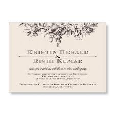 garden wedding invitations secret garden wedding invitations from marrymoment in vintage brown