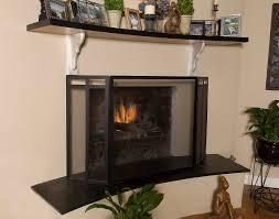 Fireplace Screens Glass Doors by Fireplace Screen Material Best Fireplace Screens U2013 Design Ideas