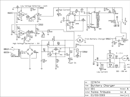component car battery charger schematic super universal a pb for