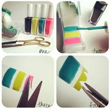 jaw dropping diy make your own nail art stickers mild east
