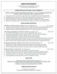 Sample Dental Office Manager Resume Sample Resume Administrative Manager U2013 Topshoppingnetwork Com